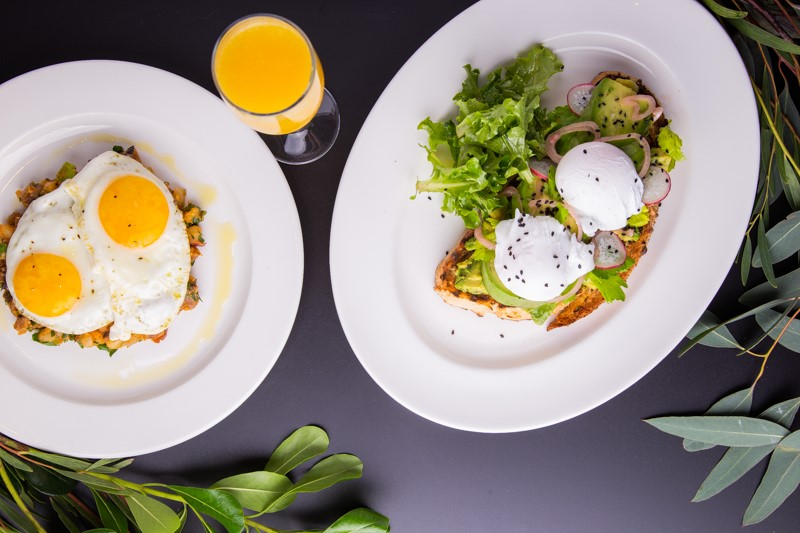Brunch at Lawry's is always extraordinary - Eggs and avocado toast